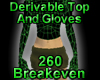 Devrivable Top w/ Gloves