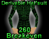 Derivable Half Body Suit